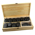 2019 trending amazon Health and Fitness Basalt lava Hot Stone Massage Kit with 33 Pieces Hot Spa Basalt Massage Stones Kit