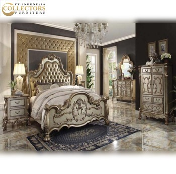 New Italian Style Antique Solid Wood Carving Bed - Bedroom Set Furniture -  Buy High End Solid Wood Bedroom Sets Furnitures,Antique Solid Wood Bedroom  ...