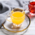Top selling 70ml high quality glass cup clear reusable arabic coffee cup