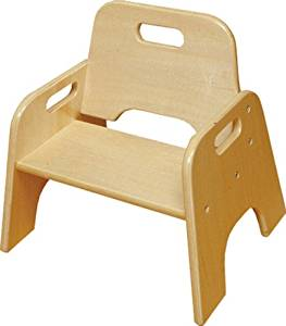 """A+ Childsupply Stackable Toddler Chair 6"""""""