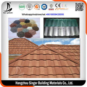 0.4mm thickness aluminium zinc roofing sheet/standing seam metal roofing/corrugated roofing sheets