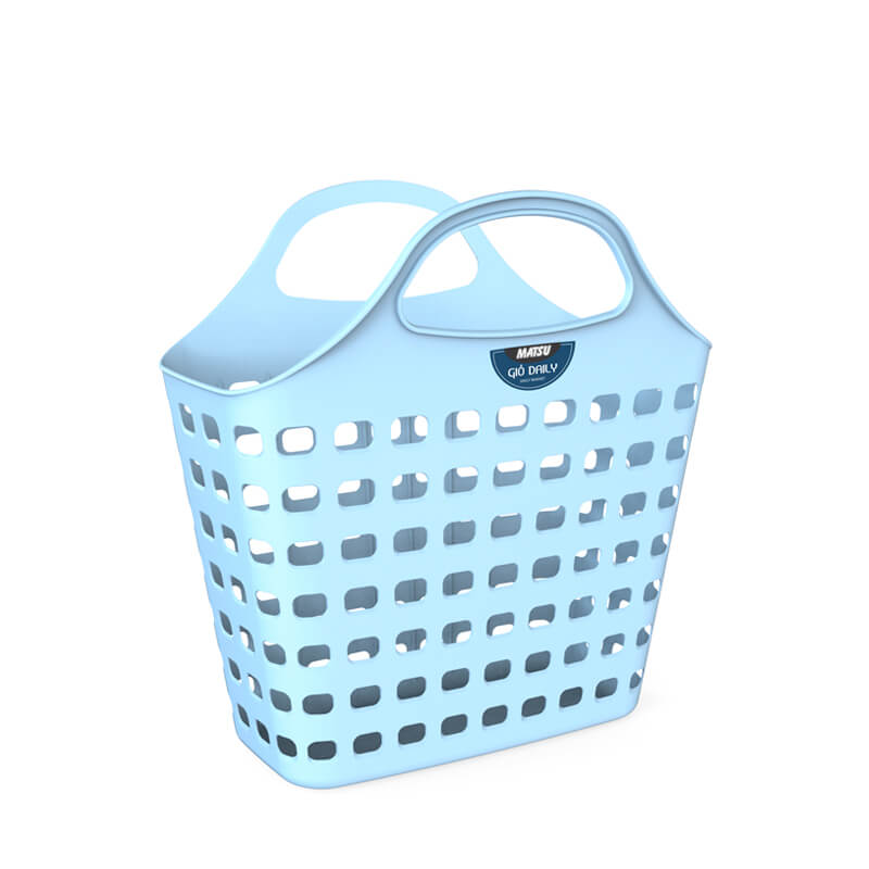 square daily basket new design 2019 in Vietnam from Duy Tan Plastic Corp