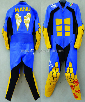 Downhill Leather Suit Leather Speed Racing Suit Go Kart Suit Skin