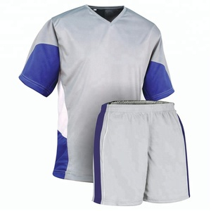 Green Soccer football uniform with Yellow panels