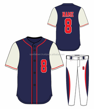 purchase cheap a40b9 177cd Baseball And Softball Uniform,Cheap Wholesale Sublimation White And Blue  Baseball Jersey Uniforms - Buy Plain White Sublimated Baseball ...