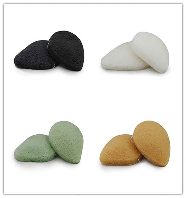 Natural Eco-friendly Super Useful Konjac Sponge With Bamboo Charcoal