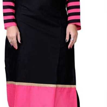 The Wholesale India Bazaar Presents Premium Quality Cotton Solid Straight Kurtis For Women's & Girls