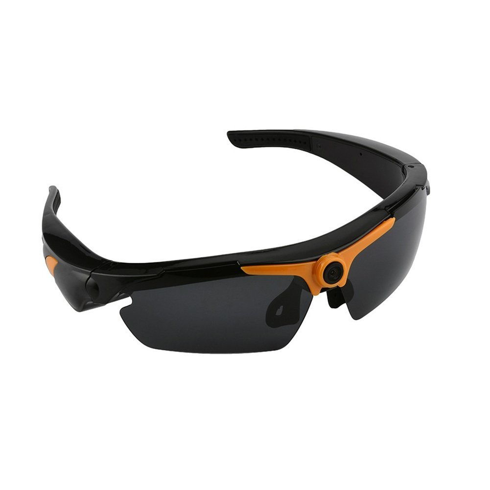 977bb020b58 Get Quotations · Lightdow SM23 HD 1080P Sunglass Camera Sunglasses Video  Recorder with Remote Control