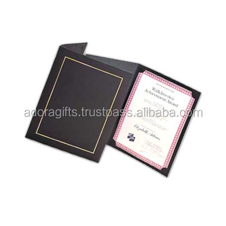 New Design Award Certificate Holder Diploma Cover For Certificate Graduation Certificate Folder Buy Wholesale Leather Certificate Holder Best