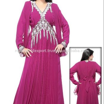 1834e8d4f9 2015 newest moroccan jalabia dress kaftan for sale REKFT197 Abaya Kaftan  Dubai Kaftans Chiffon Beaded Formal