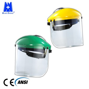Industrial Helmet Safety Visor Heat Resistance Face Shield