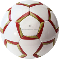 Indoor / Outdoor Player High Quality China Team Inflatable Leather Soccer Promotional Balls