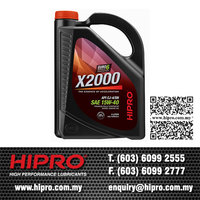 HIPRO Best Selling X2000 Fully Synthetic 15W40 Diesel Engine Oil