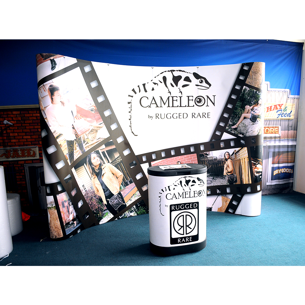 Good Price Portable Trade Show Magnetic Pop Up Wall Display <strong>Retail</strong> For Exhibition