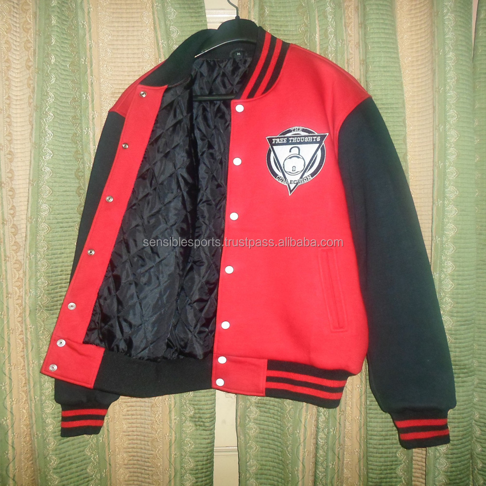Satin Letterman Jackets Baseball Varsity Jackets Collage School Premium Jackets