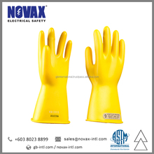 Electrical Gloves Class 00 Insulating Gloves Safety Hand Gloves Manufacturer in Malaysia