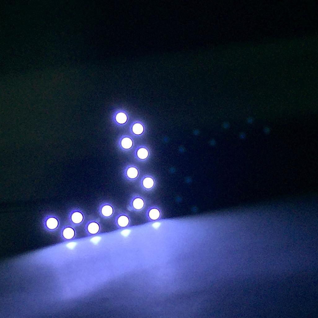 14 SMD LED Arrow Panel For Car Rear View Mirror Indicator Turn Signal Light,Tuscom