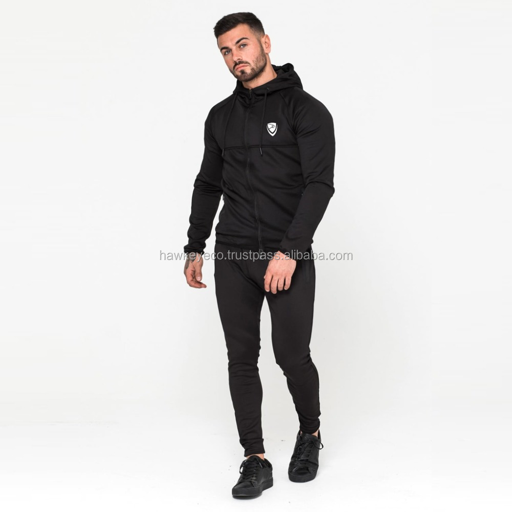 Latest design Polyester,Spandex Material Jogging Training Tracksuit wholesale manufacture by Hawk Eye Co. ( PayPal Accepted )