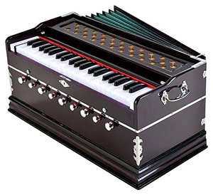 Style Maniac Harmonium with 9 Stopper,Chudidar Bellow,42 Key,Two Reed,Bass-Male,Kapler with Cover