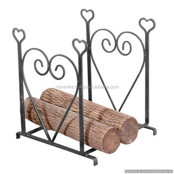 Wondrous Wood Log Holder Firewood Storage Rack Buy Wood Log Holder Firewood Storage Rack Iron Fire Place Log Rack Indoor Metal Log Holder Product On Gmtry Best Dining Table And Chair Ideas Images Gmtryco
