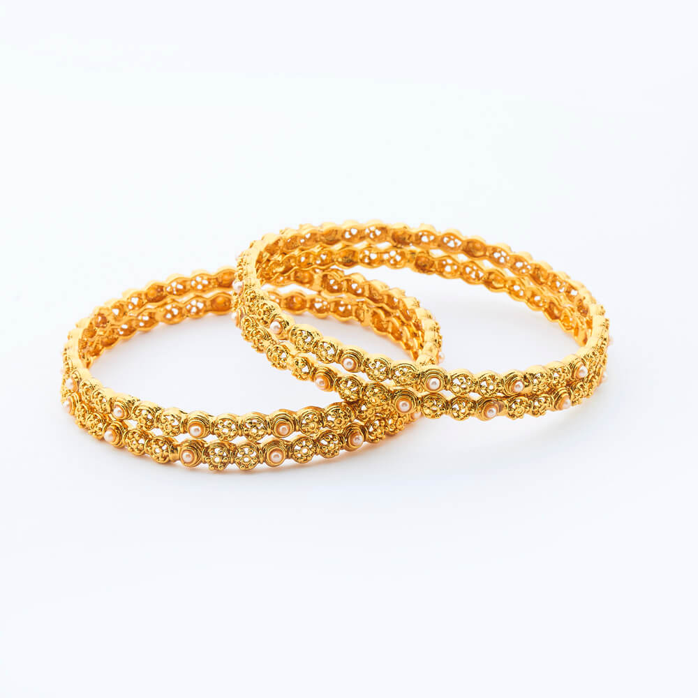 Gold Plated Antique Indian Traditional