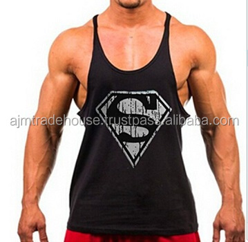 90953221429b24 New products wholesale y back bodybuilding mens stringer tank top for sale