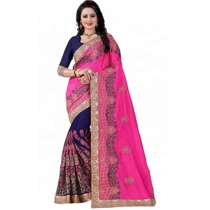 b999fe0abf Embroidery Sarees, Embroidery Sarees Suppliers and Manufacturers at  Alibaba.com