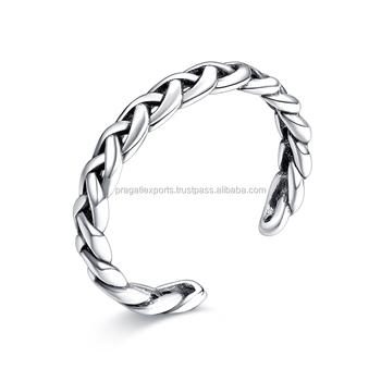 925 Sterling Silver Exotic Designer Kada