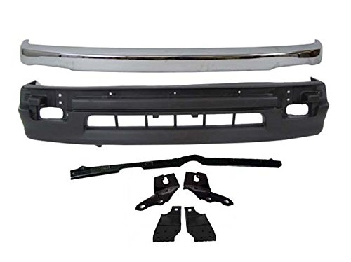 //4WD 2WD TACOMA 98-00 FRONT BUMPER END LH Chrome Trim w// Pre-Runner