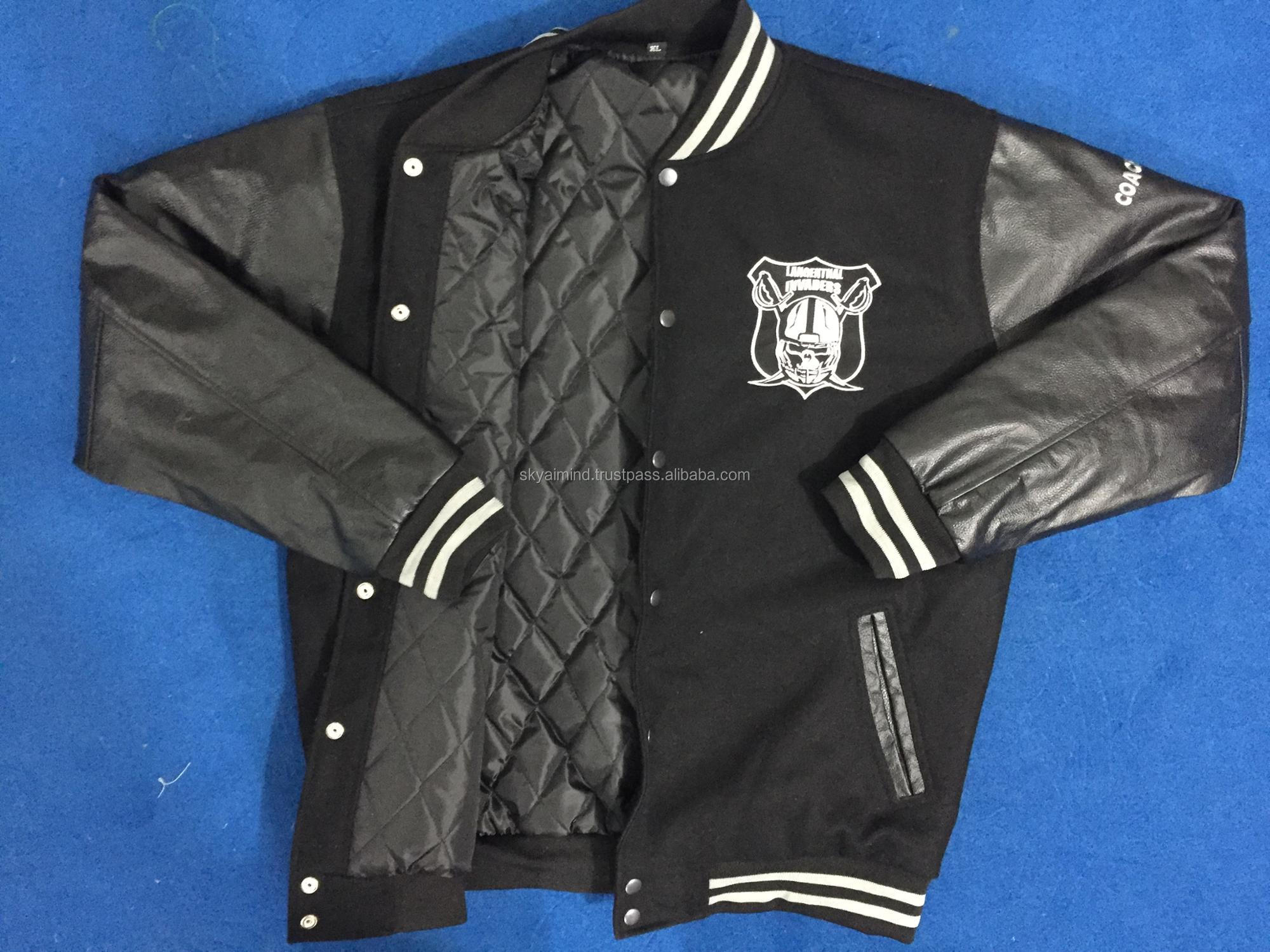 baseball cotton fleece varsity jackets,printed baseball fleece jackets,high quality baseball stylish varsity jackets
