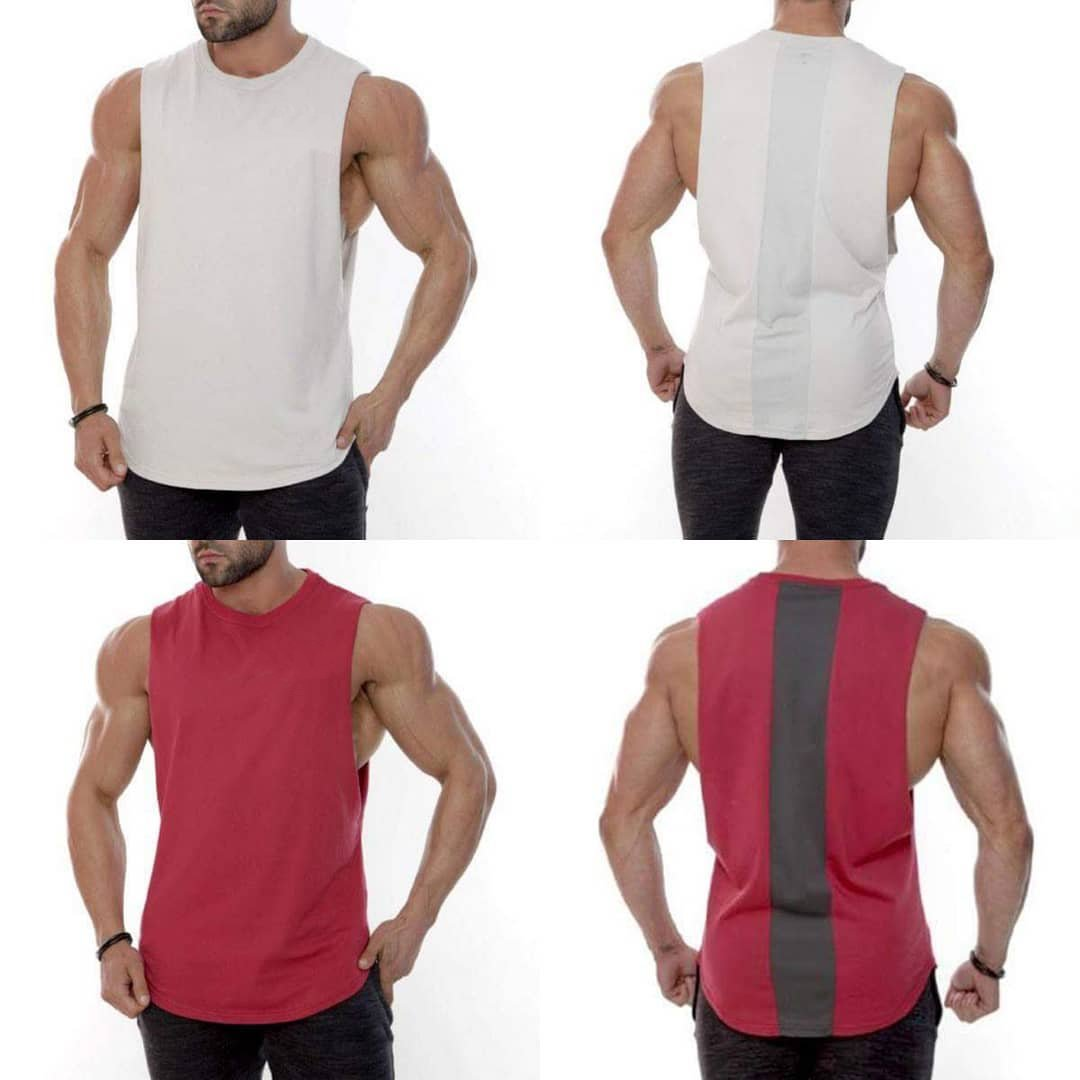 2fd9c7d5f3cb64 STRING VEST MESH FISHNET COTTON RASTA TANK TOP VEST BLACK WHITE GREEN RED  YELLOW