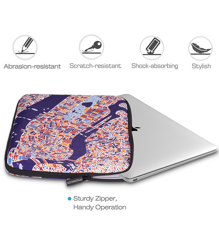 "MoKo Wholesale Neoprene Notebook Case Cover for MacBook Air 13.3""/Macbook Pro 13.3"""