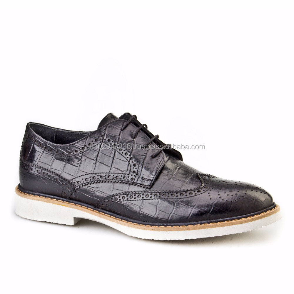 Shoes Men Casual 396M506 Croco Leather taYqpww
