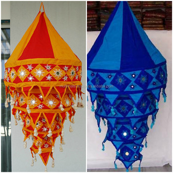 Wholesale Fabric Lamp Shades Wall Outdoor Lantern Round Handmade ...