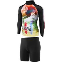 Sublimé Sur Mesure Costume de Surf
