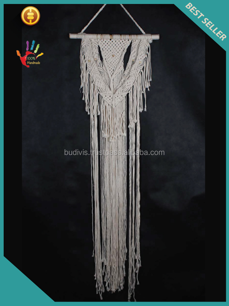 Top Selling Wholesale Bohemian Wall Hanging Bali Macrame Tapestry