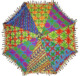Embroidery Traditional Umbrellas Wholesale Lot Indian Parasol Rajasthani Decor