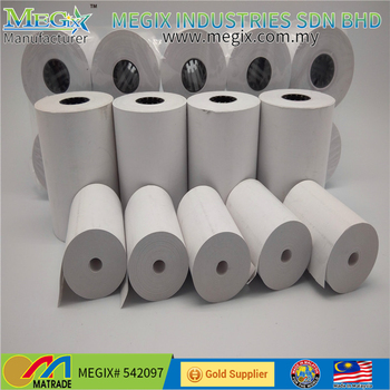 80*80mm high quality thermal paper rolls pos terminal thermal receipt paper