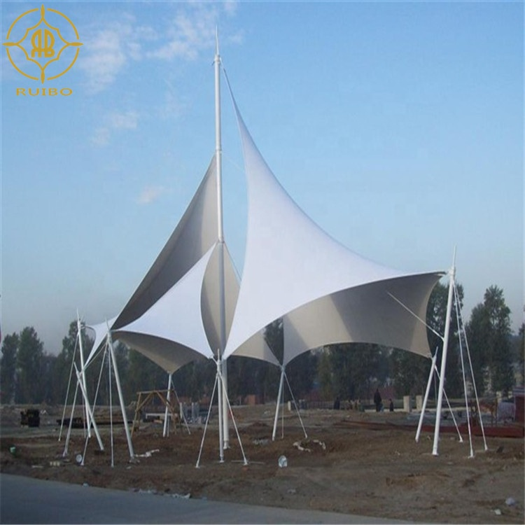 customized fabric architectural membrane structure waterproofing tent