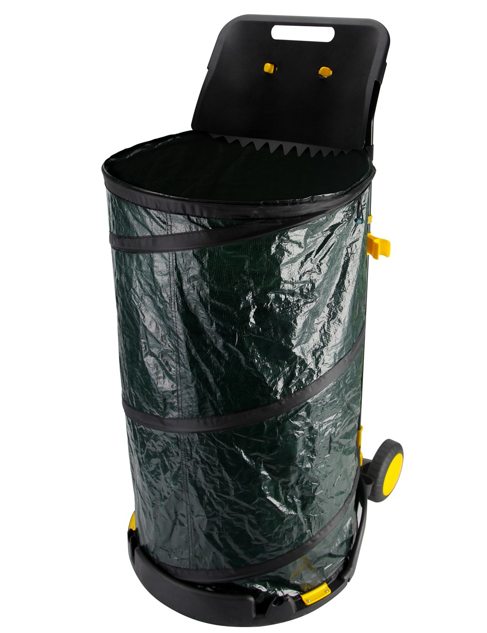 Get Quotations Maius Leaf Bag Pop Up Lawn With One Scoop Reusable Collapsible Garden