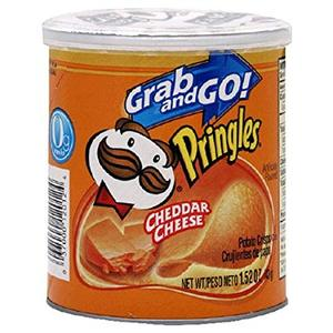 Pringle Grab & Go Cheddar Cheese 40g Potato Chips