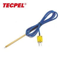 TPK-02B Thermocouple Type K Temperature Surface sensor probe with connector head