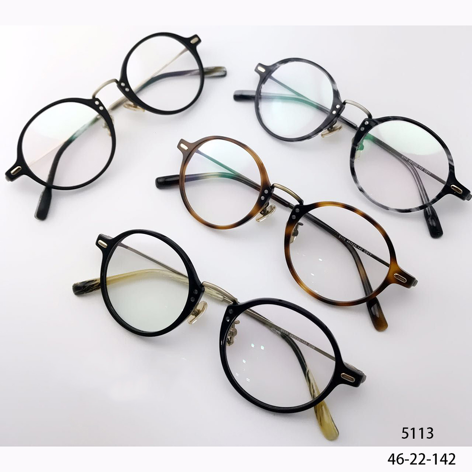 Italy Design Ultralight  Acetate & Stainless Optical Frames