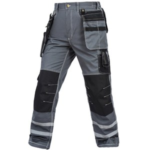 Work Cargo Pants Men Multi pockets Cargo Pants Working Cargo trousers Worker Mechanic Factory Functional Pants