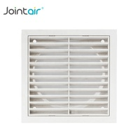 HVAC System Plastic Linear Exhaust Grilles Air Register Vents with Removable core