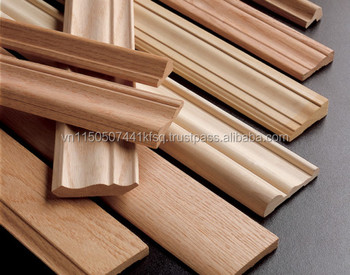 Exceptionnel SOLID WOOD FINGER JOINT MOULDING FOR FURNITURE / DECORATION / CONSTRUCTION  MATERIALS