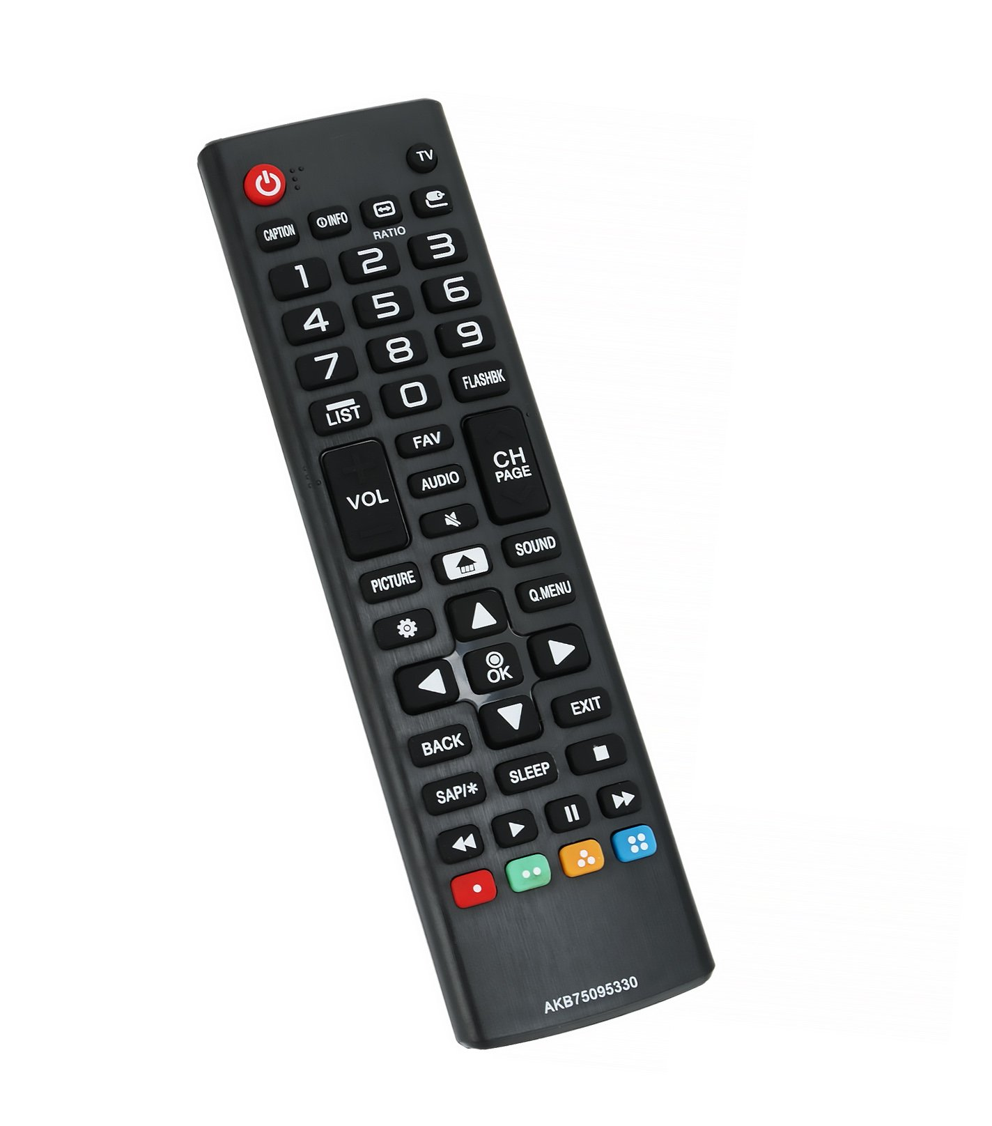 AIDITIYMI New Replace Remote Control AKB75095330 fit for LG LED LCD TV 24LH4830 43LJ500M 28LJ400B