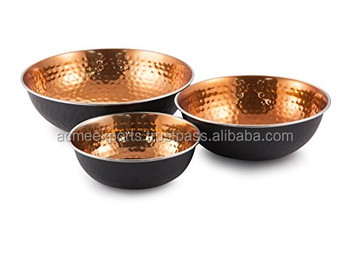 Table Decor Bowls in Iron Metal With Set of 3 pcs | Nuts Bowls For the table Top