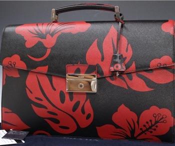 Auth Preowned Used Designer Brand Handbag Prada Saffiano Print Business Handbags For Whole Retailers And
