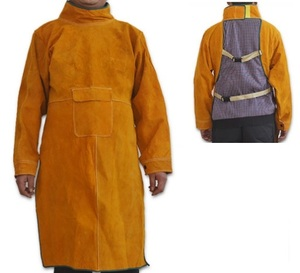 safety welding clothes / leather welding workwear / Leather Welding Safety Wears